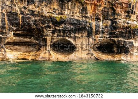 Pictured Rocks National Lakeshore caves