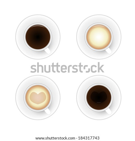Set Cup of coffee #184317743