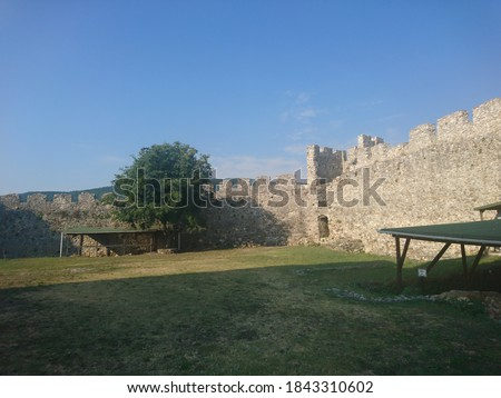 medieval castle in Platamonas Greece #1843310602