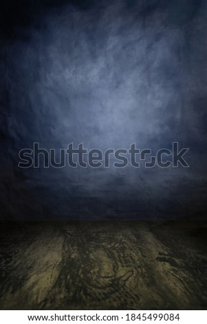 Fashion grunge backdrop with wooden planks floor in a portrait mode to use as a backdrop with your product or model advertisement photoshoot