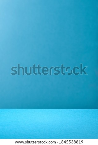 trendy blue colored paper background Royalty-Free Stock Photo #1845538819