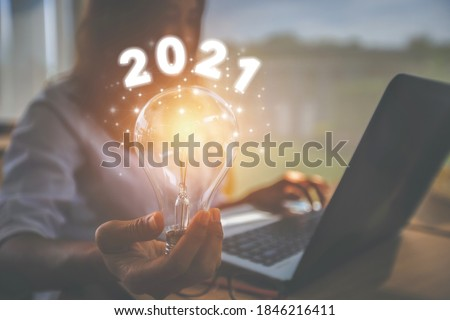 Inspirational pictures of the New Year 2021