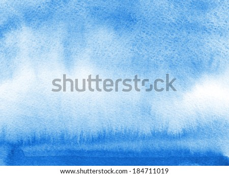 Blue watercolor background  #184711019