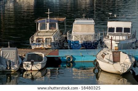 Boats in pier #2 #18480325