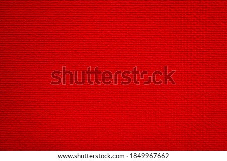 abstract background of red woolen furniture upholstery