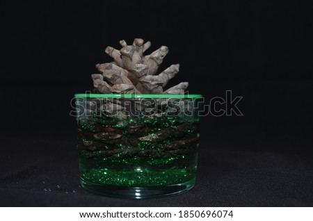 Home decoration product with pine cone #1850696074
