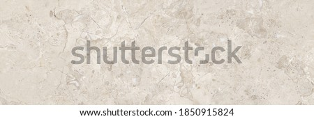 Marble Texture Background, High Resolution Italian Beige Coloured Marble Texture For Interior Exterior Home Decoration Used Ceramic Wall Tiles And Floor Tiles Surface. Royalty-Free Stock Photo #1850915824