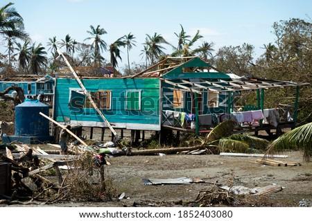 Wawa Bar in rubble after Hurricane Eta Path #1852403080