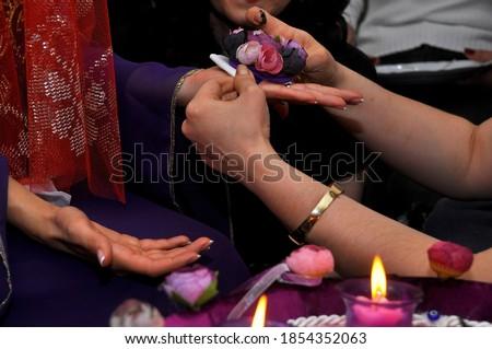 Turkish wedding custom: henna night