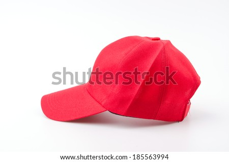 Baseball cap isolated white background #185563994