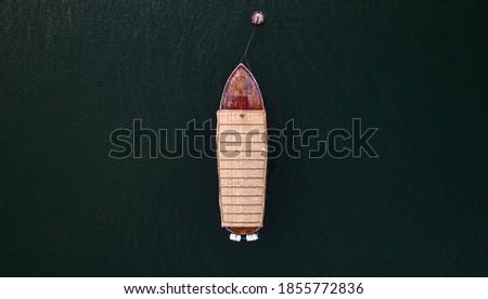 boat on Kineret lake (water)_