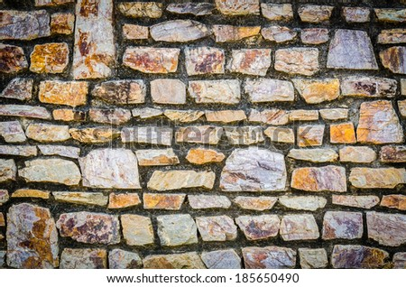 Stone wall background texture #185650490