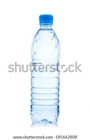 water bottle isolated on white #185662808