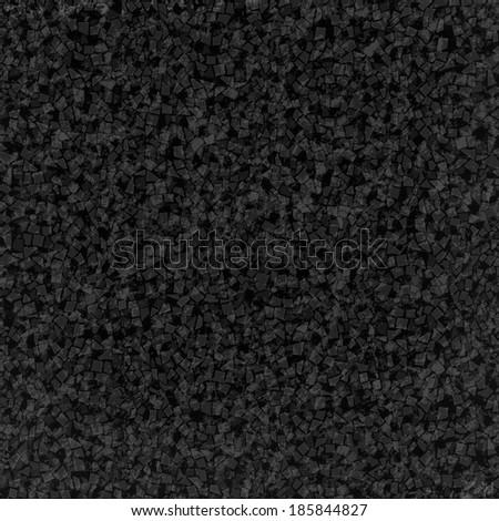 black mosaic pieces texture