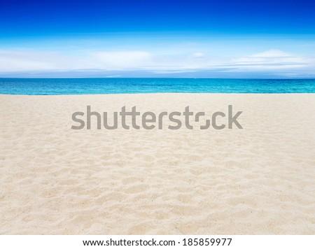 tropical sea and blue sky #185859977