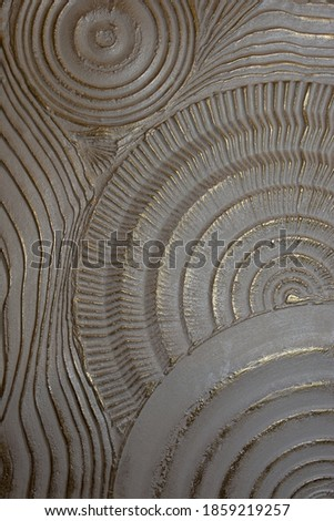 golden fossil texture decorative plaster Royalty-Free Stock Photo #1859219257