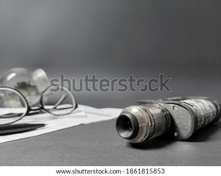 Vape image background. Stock photo.