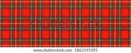 "National Scottish woven ornament - ""Scottish Cage"". Tartan ""Caledonia"", ""Scotch"", New Year's background."
