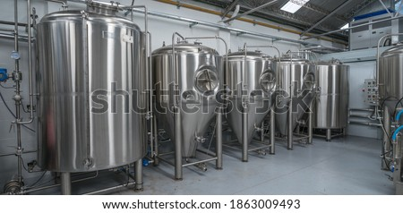 Picture of a beer factory