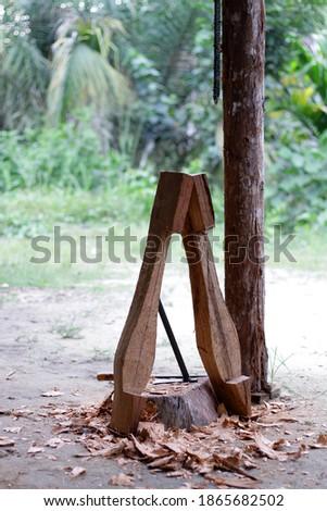 lute craft instrument. Making traditional Batak musical instruments, Hasapi musical instruments #1865682502