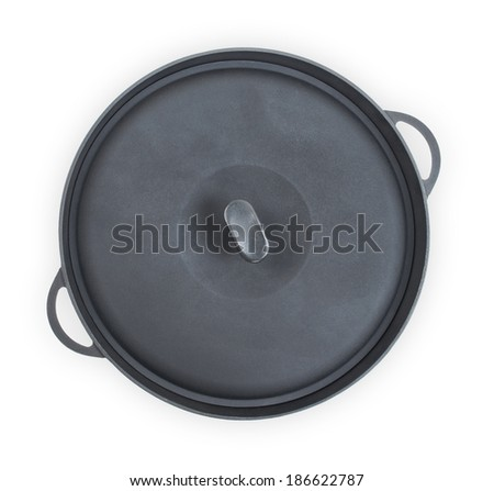 frying pan, isolated on white #186622787