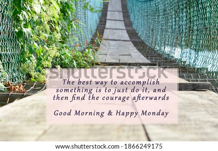 Image with Monday motivational and inspirational quotes