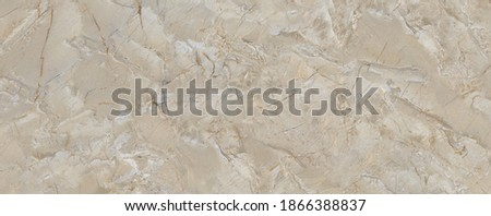 Beige Marble Texture Background, High Resolution Italian Slab Marble Texture Used For Interior Exterior Home Decoration And Ceramic Wall Tiles And Floor Tiles Surface Background. Royalty-Free Stock Photo #1866388837