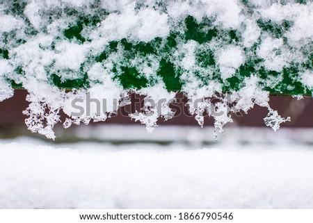 winter snow drawings, art snow