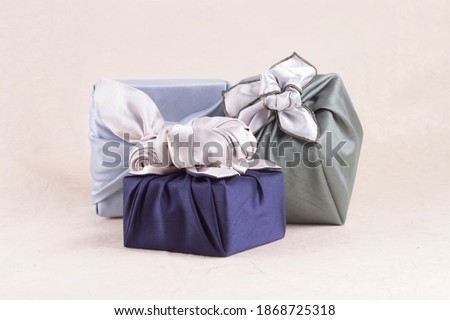 New Year's Korean Traditional Object 04 : Traditional Gifts and Korean Paper Royalty-Free Stock Photo #1868725318