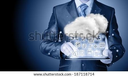Cloud computing touchscreen interface #187118714