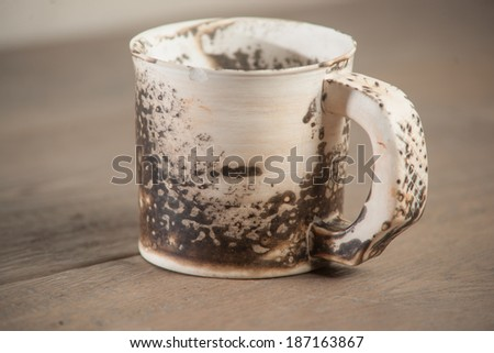 Traditional handcrafted mug - perfect for tea, coffee or beer #187163867