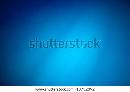 Smooth gradient background, blue texture