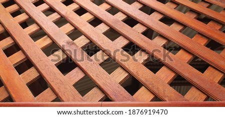 wood pattern decoration fit for outlet