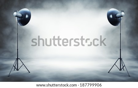 high resolution 3D rendering of a studio background #187799906
