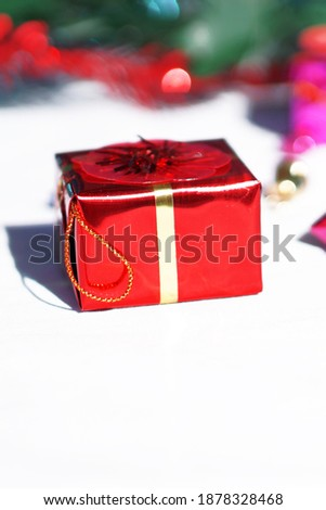 Christmas and New Year pictures with gifts