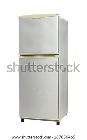 Refrigerator (with clipping path) isolated on white background #187856465
