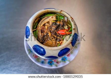 Mat ca Ngu or Eye of Tuna, Vietnamese food at Phu Yen, Vietnam Royalty-Free Stock Photo #1880129035