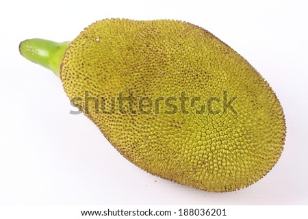 Jack fruit isolated on white background #188036201