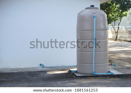 Water tank for storage drinking water in Thailand
