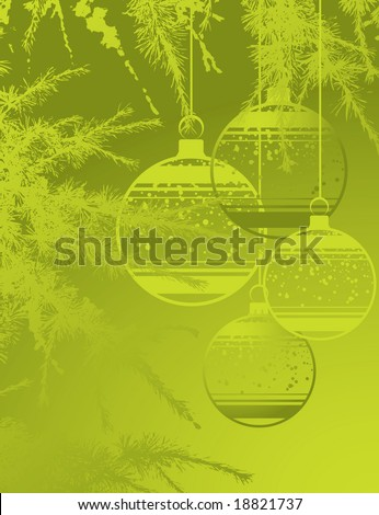 Christmas theme. Vector illustration. Suits well for design. #18821737