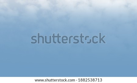 A beautiful presentation background with clouds