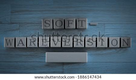 software version update - cubes concept