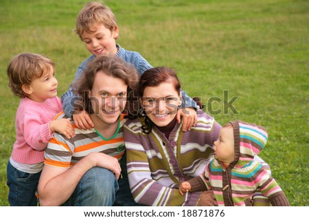 family of five outdoor #18871876