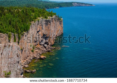 Summertime in Duluth Minnesota - State Parks Royalty-Free Stock Photo #1887710734