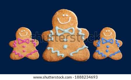 gingerbread man - classic christmas character