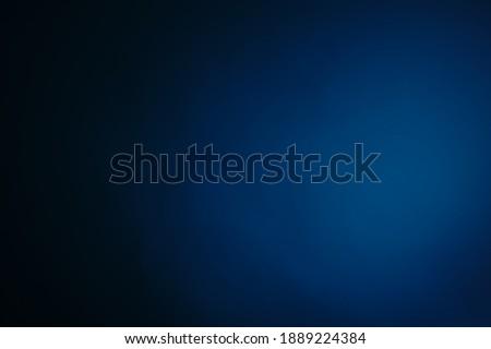 Dark, blurry, simple background,  blue  abstract background gradient blur, Studio light.
