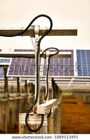 Iron bracket diagram of solar photovoltaic panel