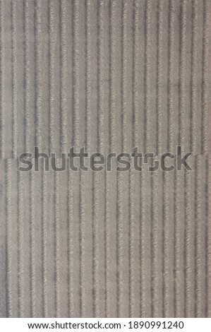 Top view grey fabric color texture of different types of weaving in the fabric industry.