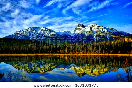 A beautiful moutain lake picture