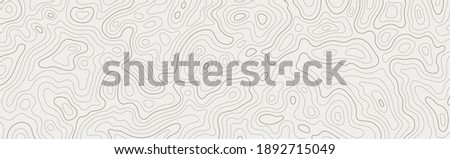 Topographic map patterns, topography line map. Vintage outdoors style Royalty-Free Stock Photo #1892715049